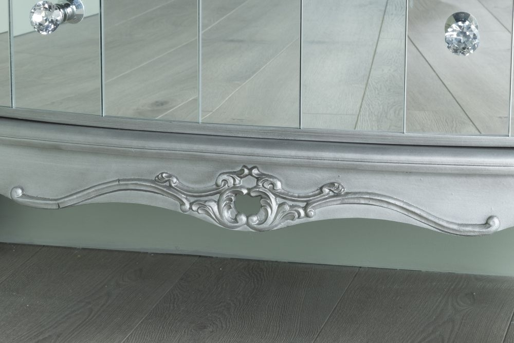 Urban Deco Tiffany French Mirrored Sideboard
