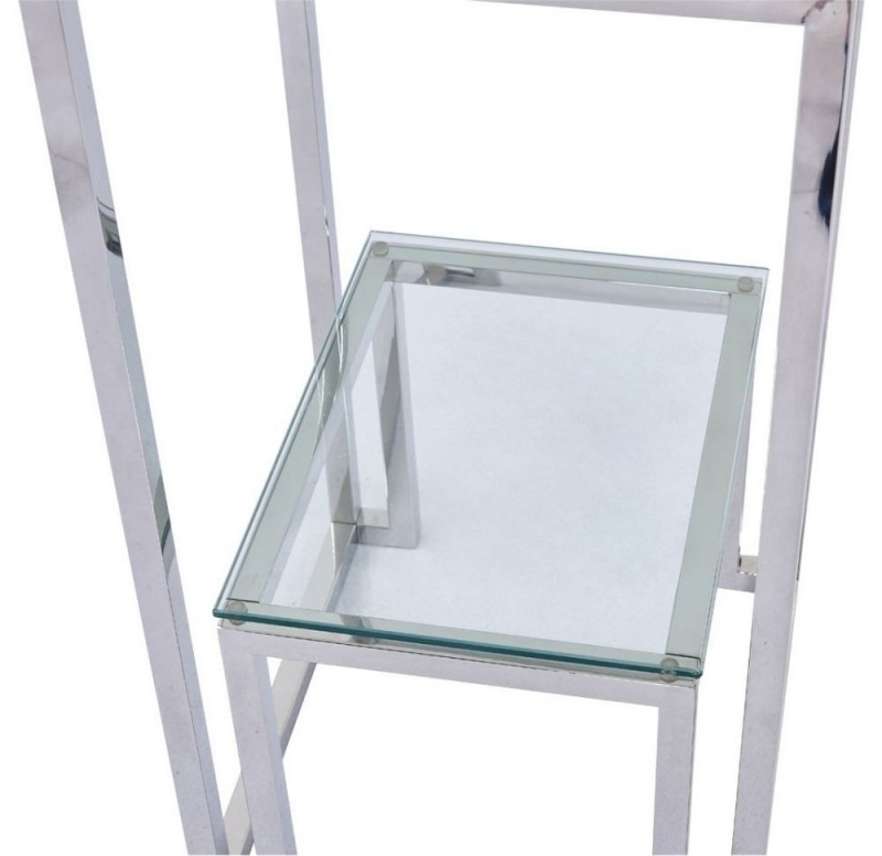 Haxby Glass and Chrome Telephone Table