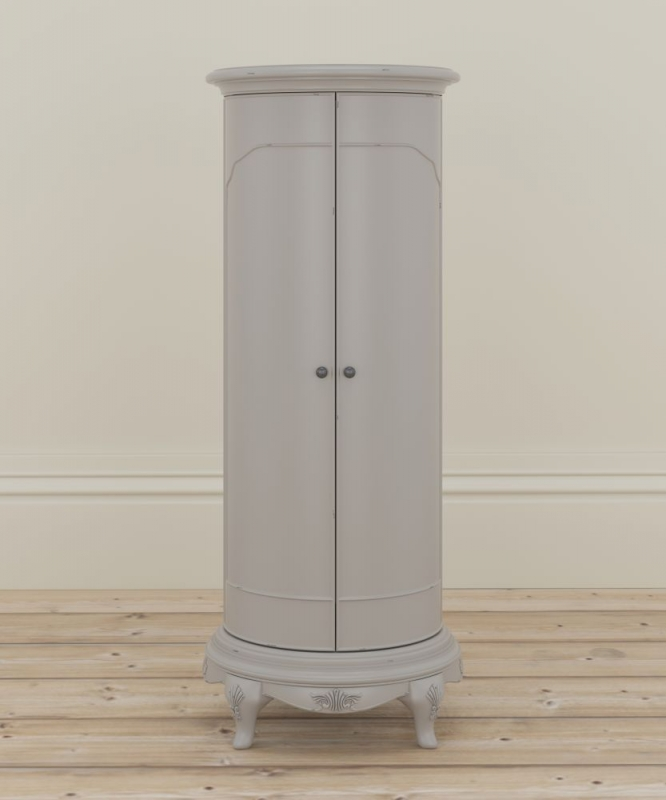 Willis and Gambier Etienne Grey 2 Door Storage Cabinet