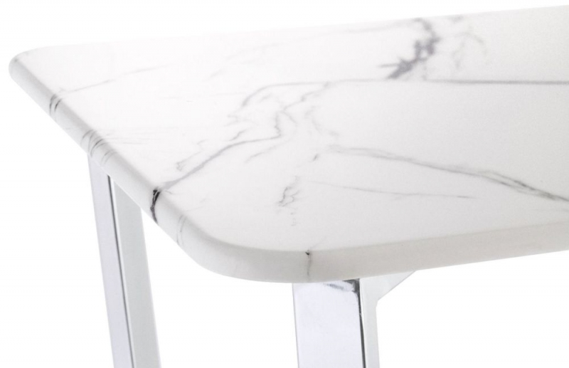 Selmont Marble Effect Coffee Table