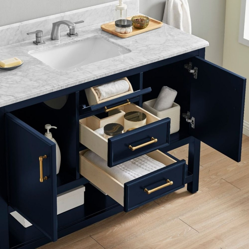 Keller Navy 2 Door Bathroom Vanity Unit