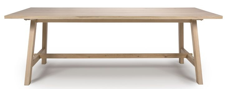 Bergen Oak 180cm Dining Table