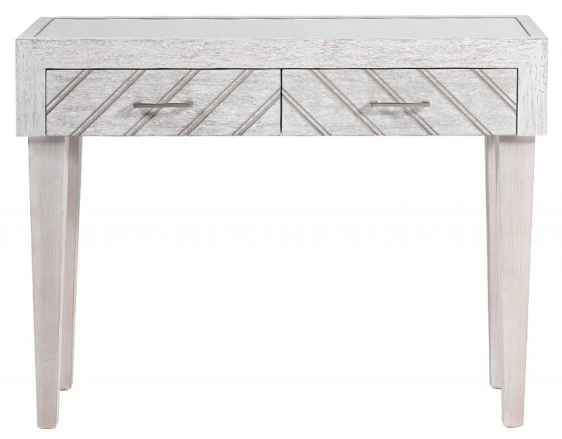 Roland Natural Wood Console Table