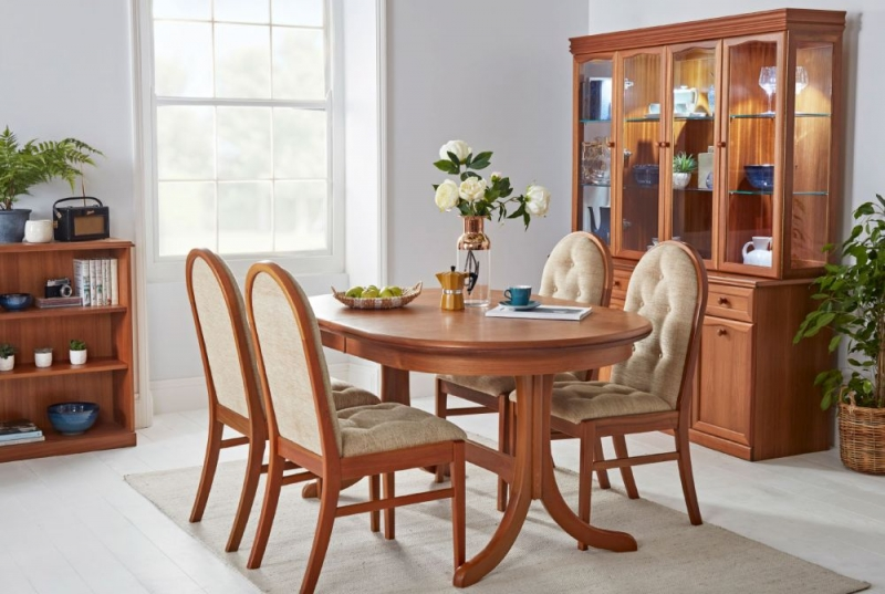 Nathan Trafalgar Oval Extending Dining Table