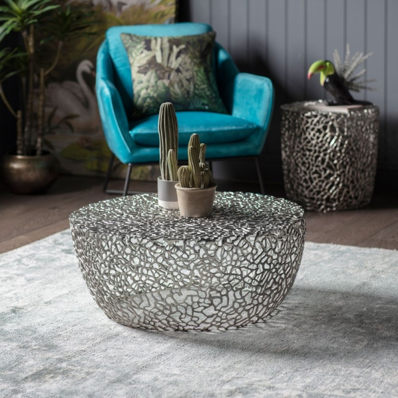 Gallery Verdant Silver Coffee Table