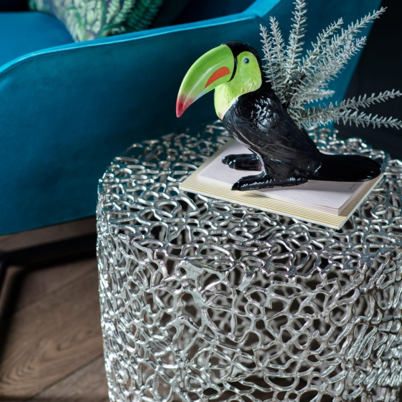 Gallery Verdant Silver Side Table
