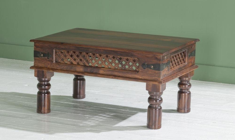 Jali Indian Sheesham Wood Medium Coffee Table