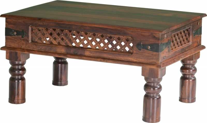 Jali Indian Sheesham Wood Medium Coffee Table
