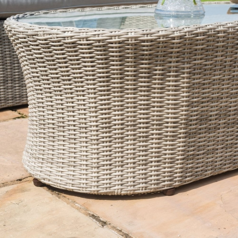 Maze Rattan Oxford Small Corner Group with Additional Armchair
