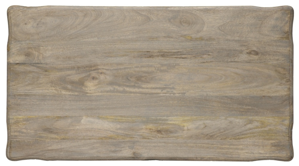 Urban Deco Fleur French Style Distressed Painted Coffee Table