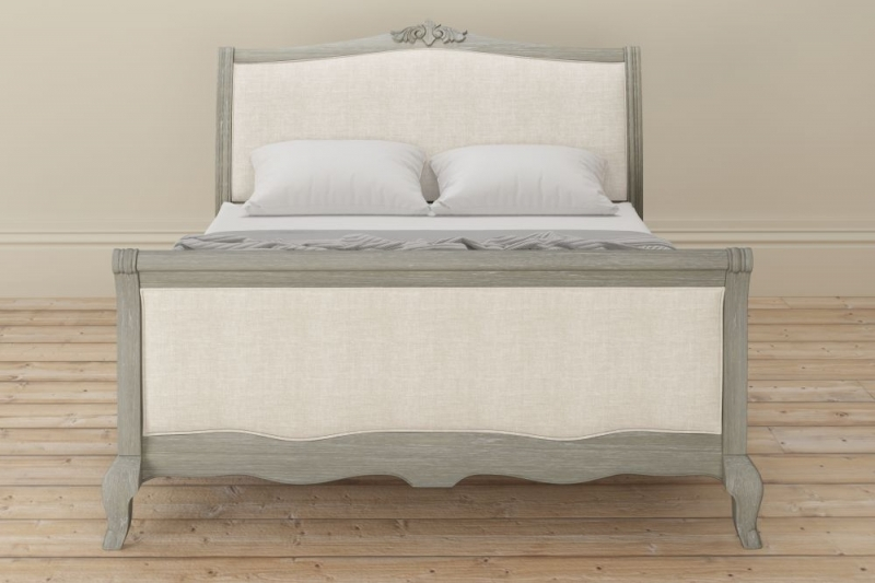 Clearance - Willis and Gambier Camille Oak Low Foot End 5ft King Size Bedstead - New - FS1039