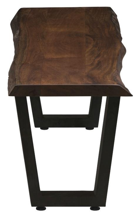 Urban Deco Live Edge Solid Acacia Wood 160cm Bench - Light