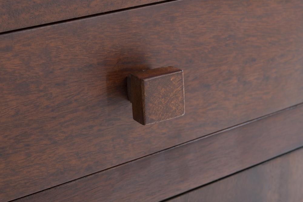 Dakota Indian Mango Wood Writing Desk - Dark