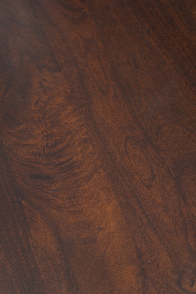 Dakota Indian Mango Wood 110cm Medium TV Unit - Dark