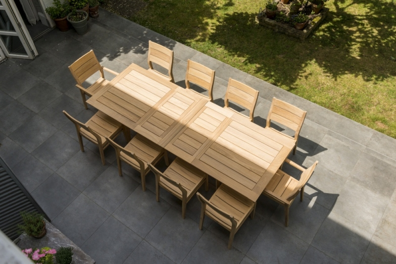 Alexander Rose Roble Extending Dining Table