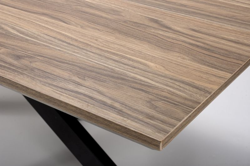Manhattan Light Walnut Dining Table