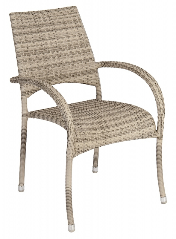 Alexander Rose Ocean Pearl Fiji Stacking Armchair (Pair)