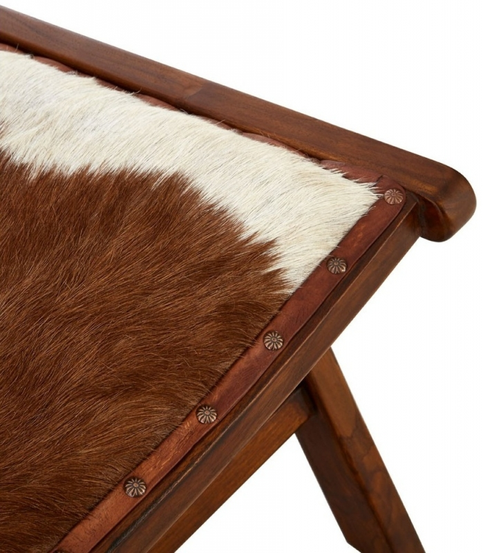 Adelaide Goat Hide Chair