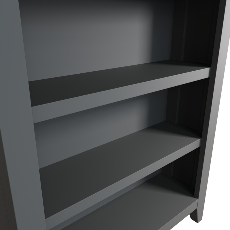 Graceton Oak and Grey Painted Small Bookcase