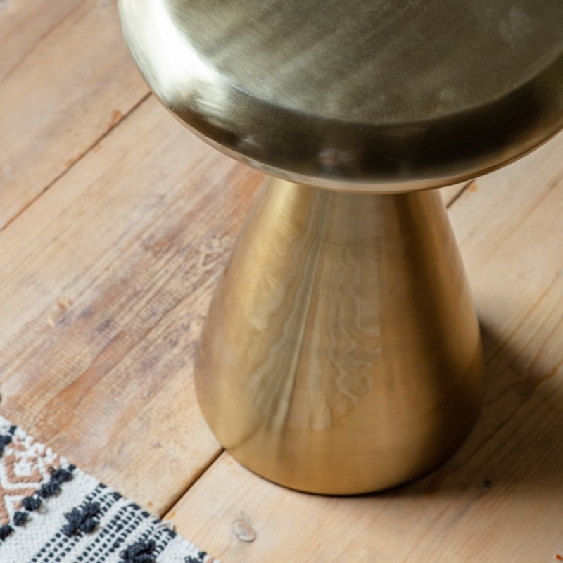 Gallery Molash Gold Side Table