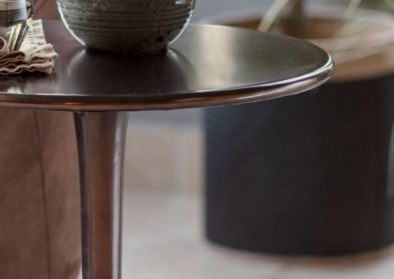 Gallery Kinnitty Bronze Side Table