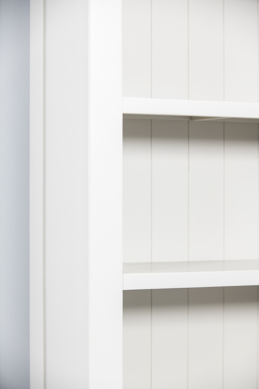 Costwold Oak and Grey Painted Large Bookcase