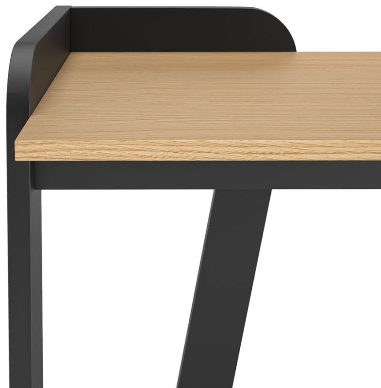 Temahome Maya Oak and Black Office Desk