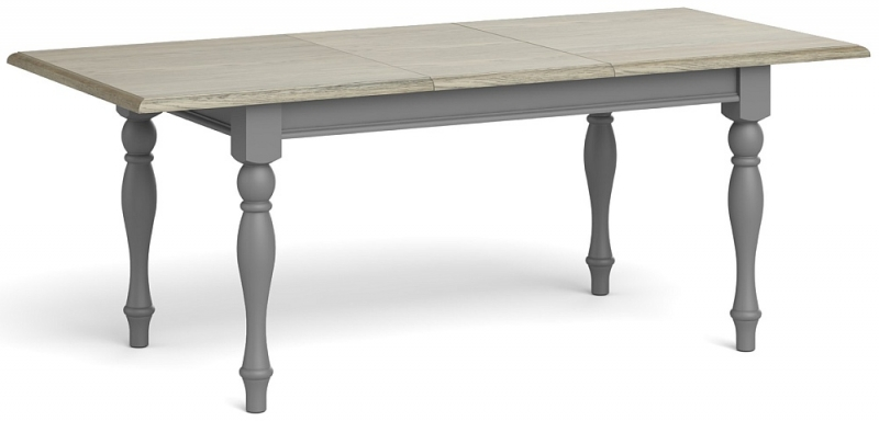 Global Home Marseille Grey Painted Extending Dining Table