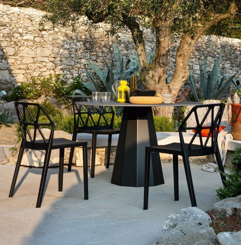 Connubia Dix Round Dining Table - 120cm