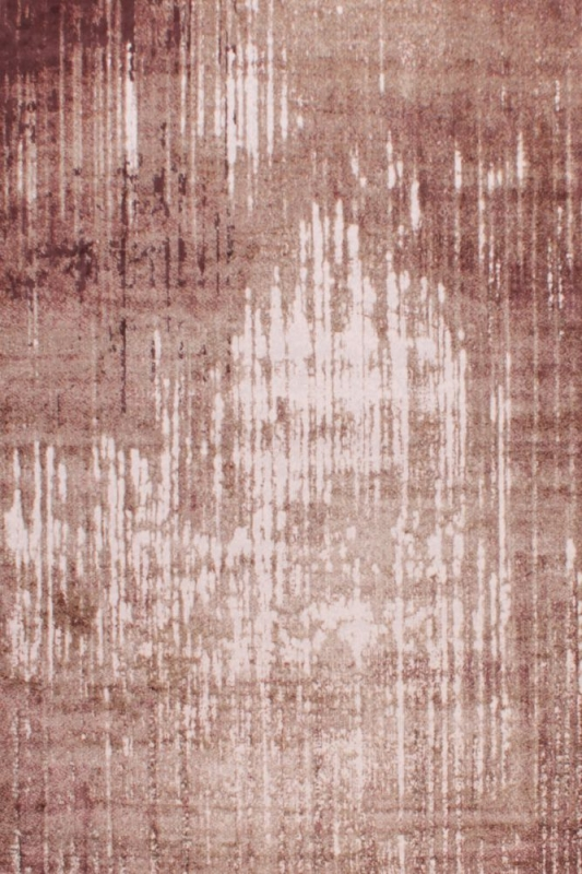 Elements 708 Terracotta Abstract Viscose Rug