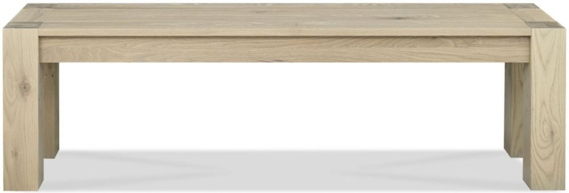 Bentley Designs Turin Aged Oak Dining Bench