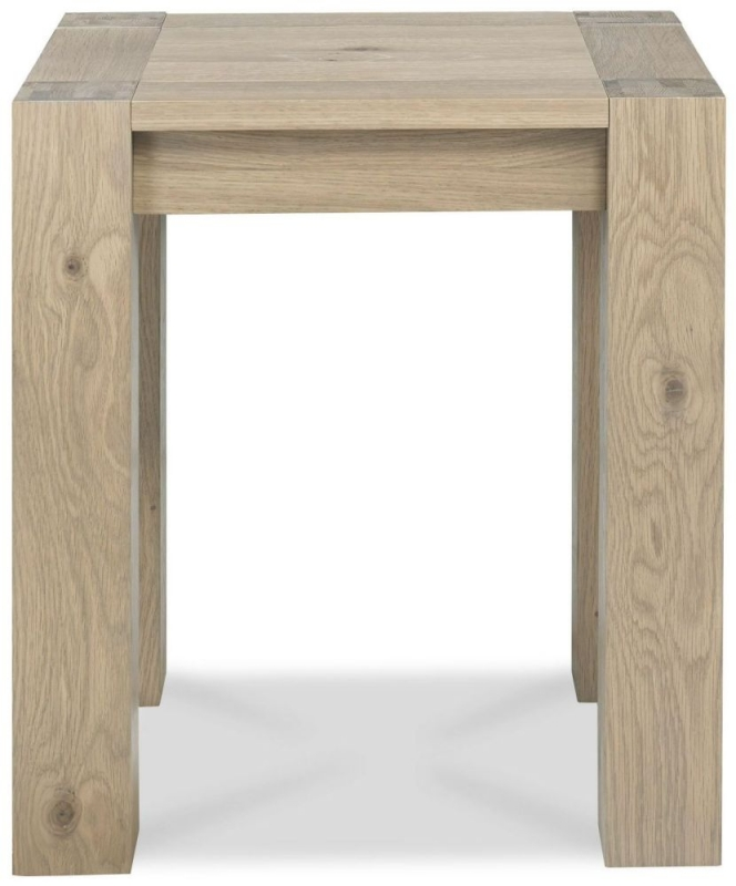 Bentley Designs Turin Aged Oak Lamp Table