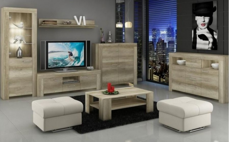Lincoln Country Oak Coffee Table