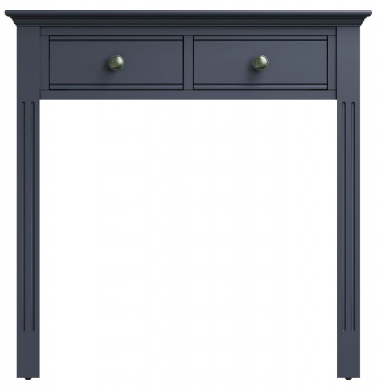 Ashby Midnight Grey Painted 2 Drawer Dressing Table