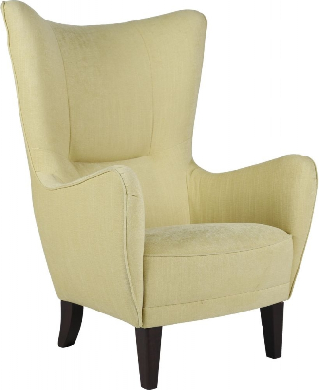 Tallinn Occasional Tub Chair with Mid Brown Leg