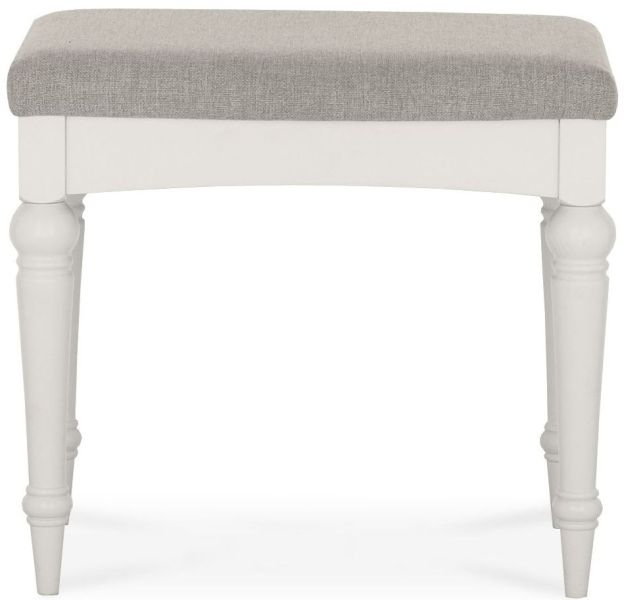 Bentley Designs Montreux Soft Grey Stool