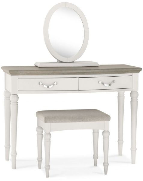 Bentley Designs Montreux Grey Washed Oak and Soft Grey Dressing Table