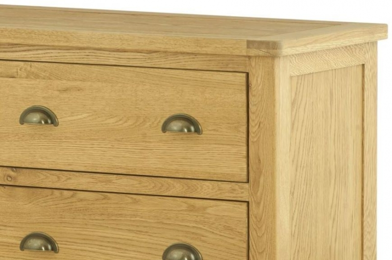 Portland Oak 6 Drawer Chest