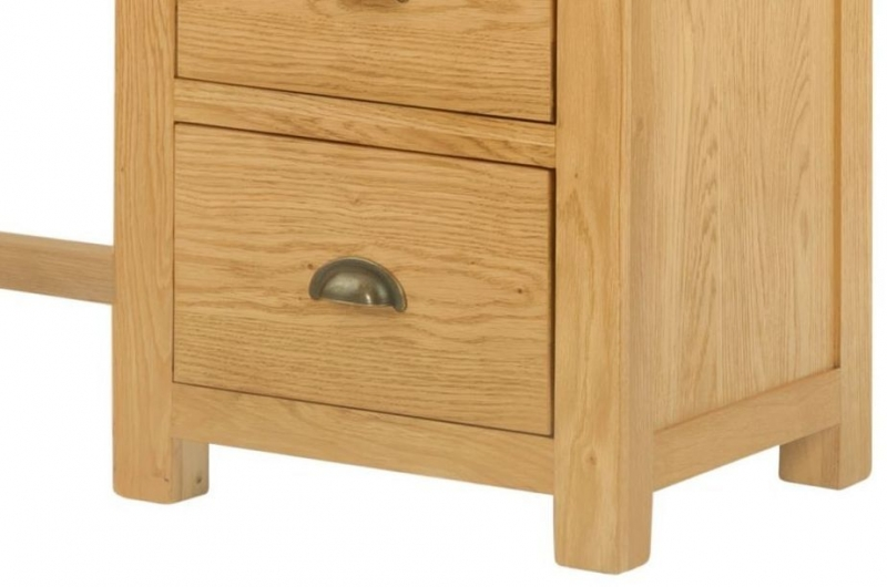 Portland Oak Dressing Table