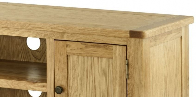 Portland Oak Large TV Cabinet