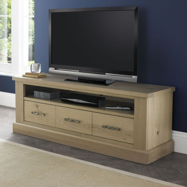 Bentley Designs Chartreuse Aged Oak Entertainment Unit