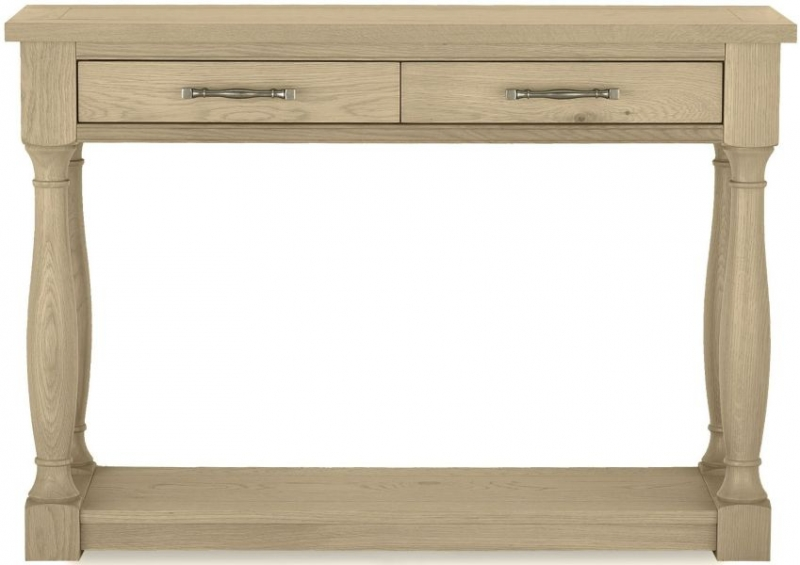 Bentley Designs Chartreuse Aged Oak Console Table