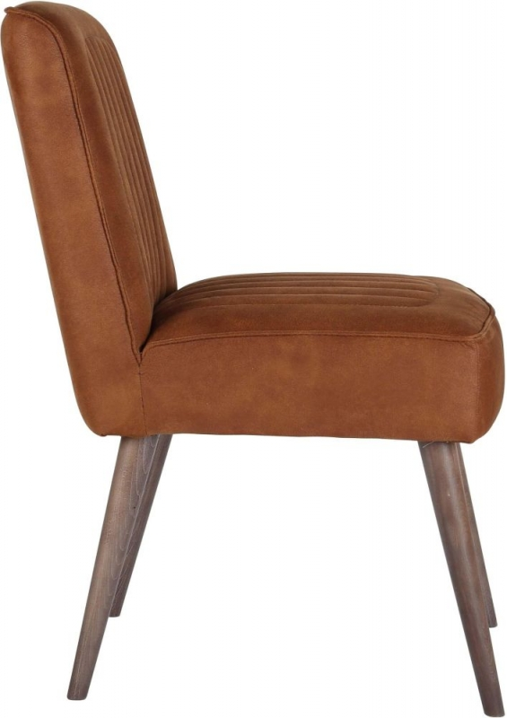 Cortina Dining Chair with Beech Smoke Leg (Pair)