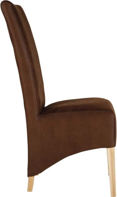 Knightsbridge Dining Chair with Oak Natural Leg (Pair)