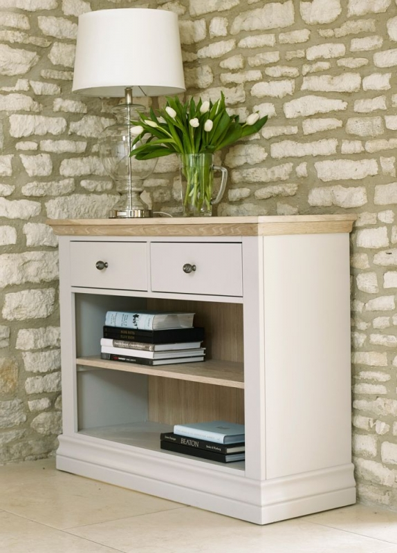 Corndell Annecy Oak Top Bookcase