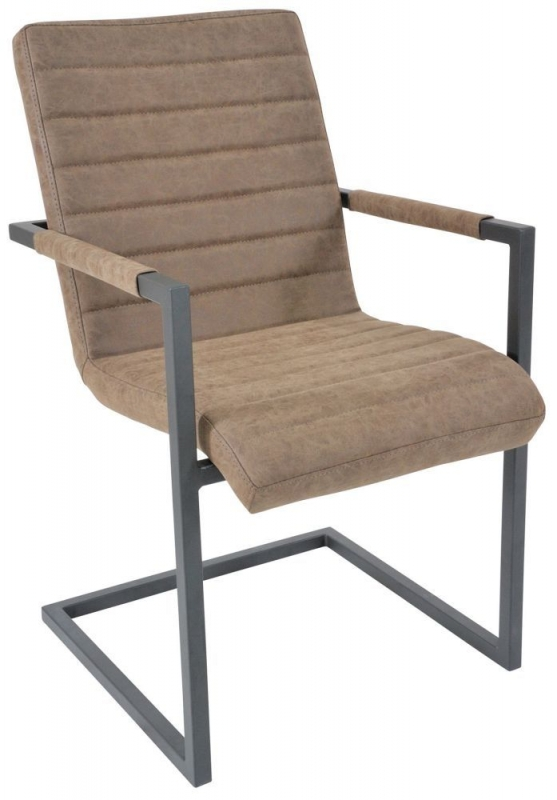 Rowico Lowry Industrial Brunel Dining Chair (Pair)