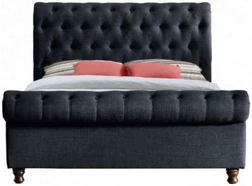 Birlea Castello Charcoal Bed