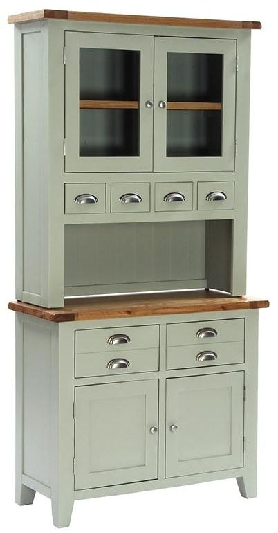 Vancouver Petite Expression 2 Door 4 Drawer Hutch