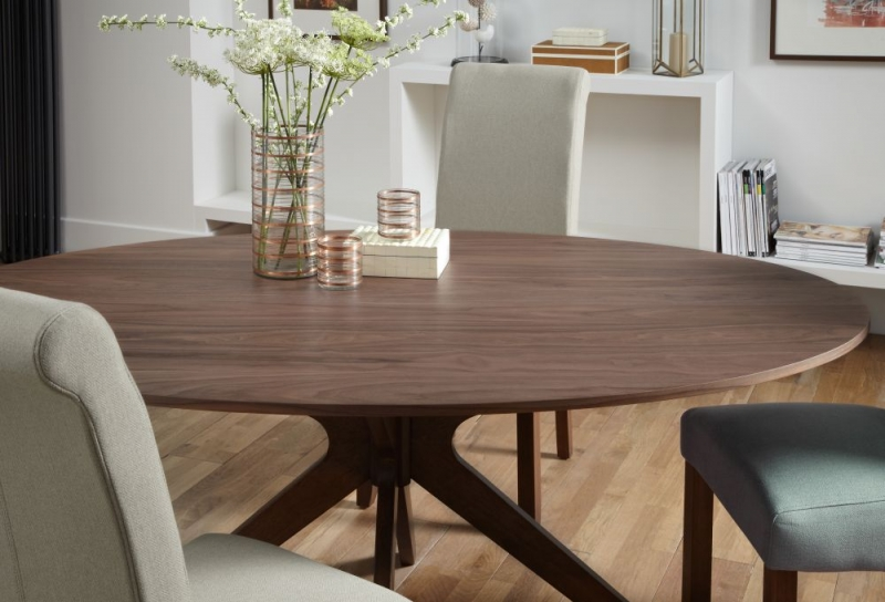 Serene Waltham Walnut Dining Table
