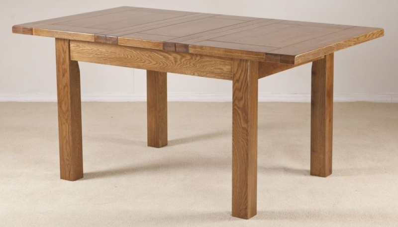 Buy Rustic Oak Dining Table 4ft Extending with 1 Leaf  : 4Rustic Oak Dining Table 4ft Extending with 1 Leaf 06 from www.choicefurnituresuperstore.co.uk size 800 x 428 jpeg 163kB